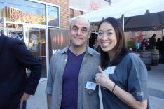 GL'r Elise Hu And Wait Wait Don't Tell Me's Peter Sagal