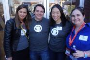 GL Founder Danielle Deabler, and Lars Schmidt, Elise Hu, Kate Myers (L to R)