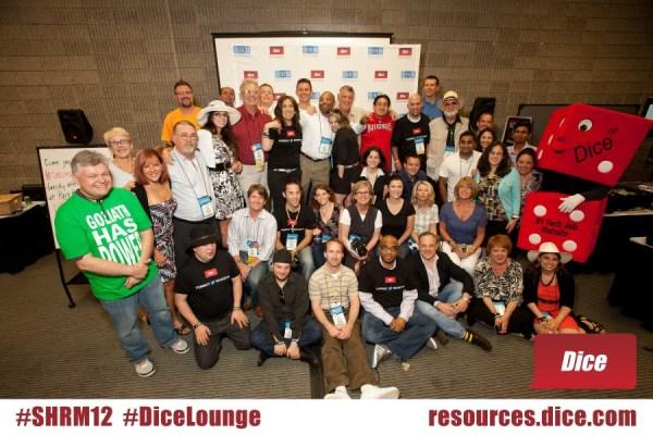 SHRM 2012 HR blogger crew.